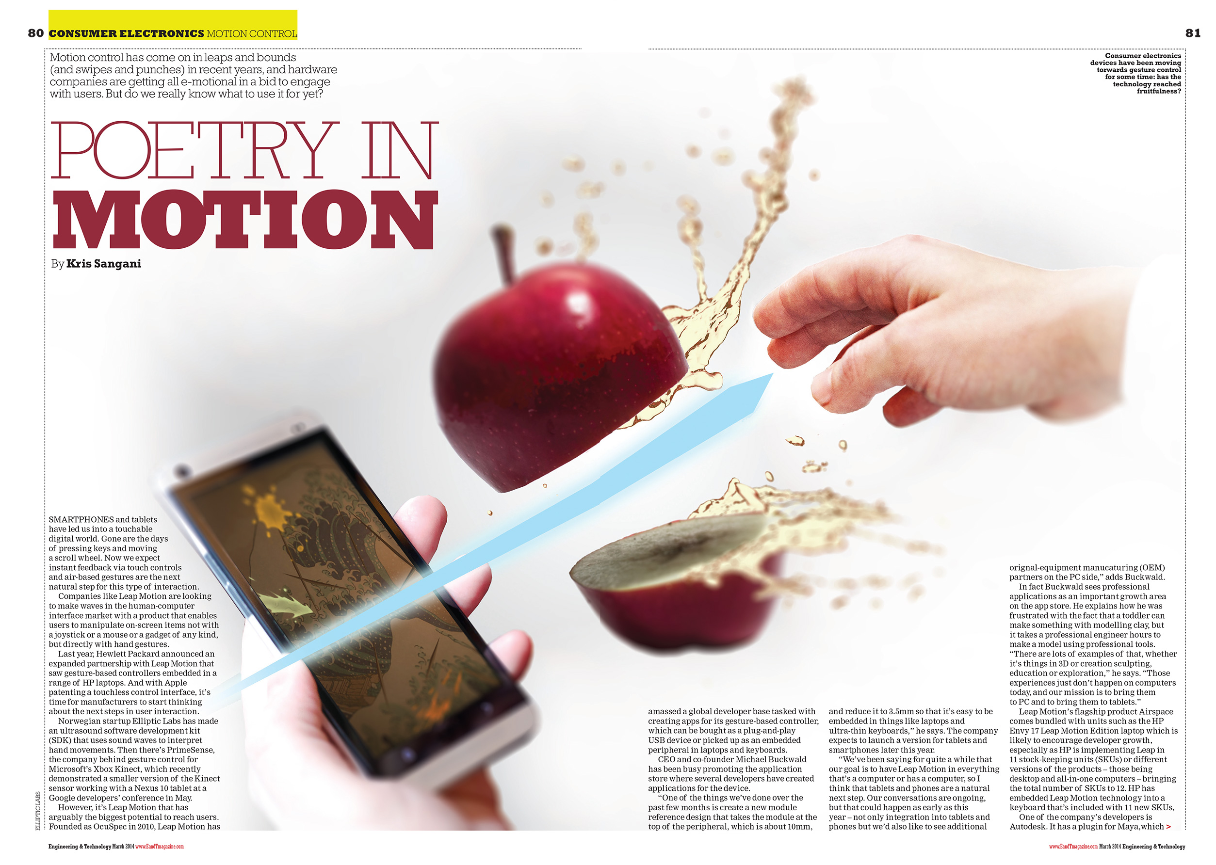 Magazine feature image